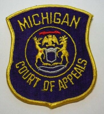 Michigan Court Of Appeals Patch Unused
