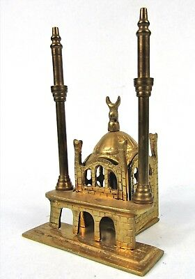 Vintage Brass Ortakoy Mosque Islamic Souvenir Metal Building Bosphorus Turkey