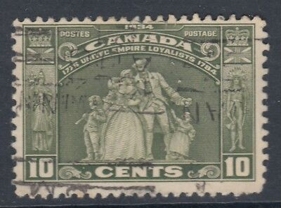 "Canada Scott #209 10 cent Loyalist Statue ""Loyalists"" F"