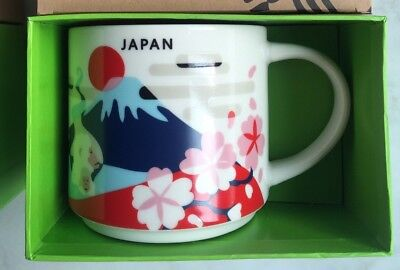 Starbucks Japan Mug Cup You are here City Collectible Tokyo Fuji YAH New in box