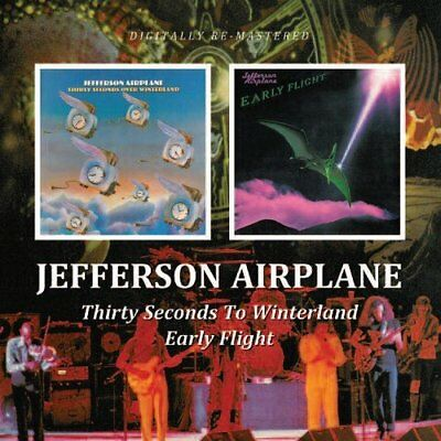 Jefferson Airplane - Early Flight/Thirty Seconds Over Winterland (2010)  CD NEW