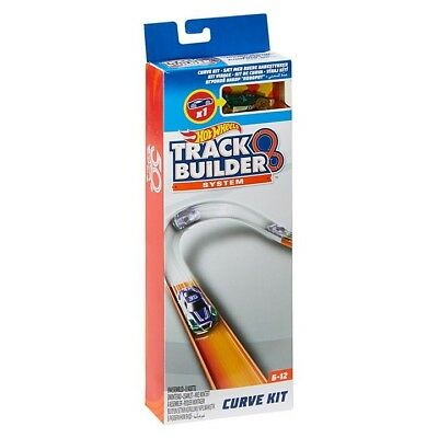 Hot Wheels Workshop Track Builder Turn It Curve sections Banked High Speed Kit