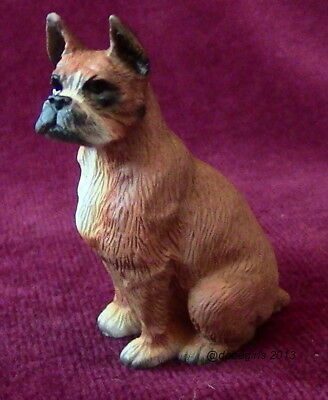 Boxer Dog Figurine ~ Super low price $ for Red Leash Rescue!