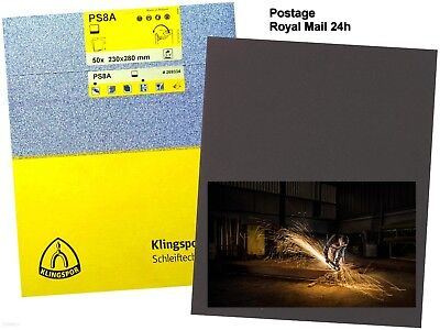 WET AND DRY SANDPAPER KLINGSPOR  WATERPROOF SAND PAPER // Royal Mail 24H //