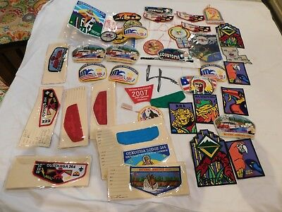 BSA Patches 40+ OA Jamborees Camps States Events Colorful Chiefs Paths Lot 4