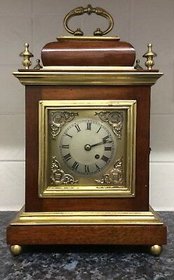 A Stunning Hand Built Fusee Bracket Clock +++In Working Order+++