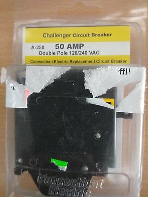 CHALLENGER 120/240VAC 50AMP 1-1/2 in  2-Pole Type QC Replacement