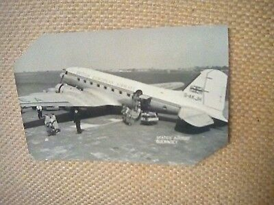 Postcard of States Airport Guernsey