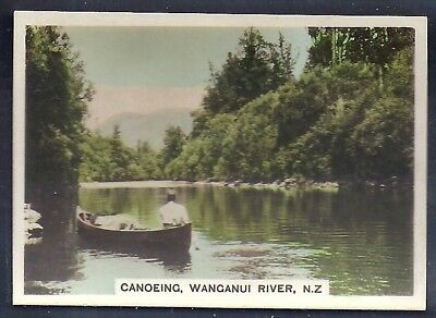 Bucktrout-Around The World Places Of Interest-#368- Wanganui River - New Zealand