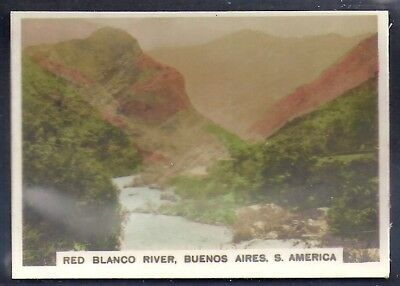 Bucktrout-Around The World Places Of Interest-#398- Red Blanco - South America