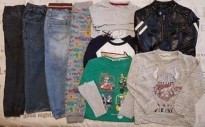 Boys Bundle Age 5-6 Inc Jacket Jeans Tops Next H&M Mango TU Etc