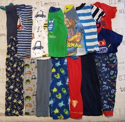 Huge Boys Pyjama Sets Bundle Age 5-6 Inc Next TU George etc