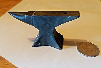 Antique  - miniature Anvil - Original - very old -