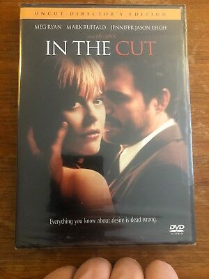 In the Cut (DVD, 2004, Widescreen, Unrated Version) Meg Ryan, Mark Ruffalo NEW!