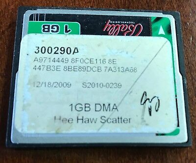 Bally Hee Haw Scatter 1GB card