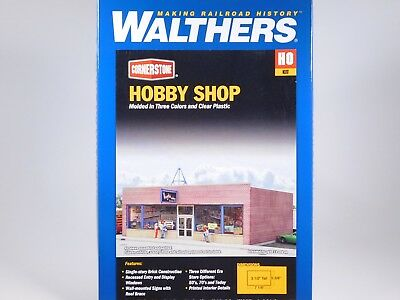 HO 1/87 Scale Walthers Cornerstone 933-3475 Hobby Shop Model Building Kit