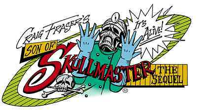 Son of Skullmaster Craig Fraser Mini Series Airbrush Stencil Artool Set of Four