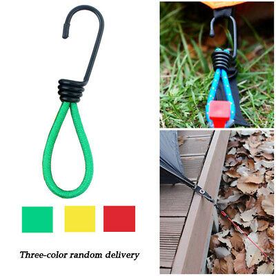 Outdoor Camping Essential Multifunction Elastic Rope Tied Rope Hook 15CMC