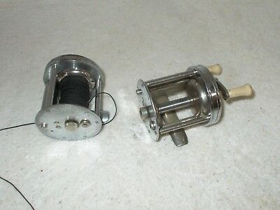 Vintage Early Shakespeare Leader #1909 & Anniversary A20 Model B Casting Reels