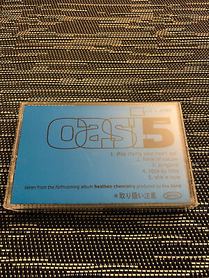 Oasis - Heathen Chemistry extremely rare Japanese Promo Cassette / Tape