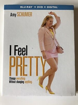 I Feel Pretty (Blu-ray/DVD) w/ Case & Slipcover **LIKE NEW**