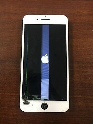 iPhone 7+ Plus LCD White Screen 100% Genuine Original Apple LCD OEM RETINA
