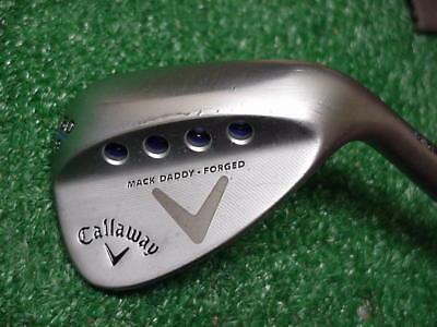 Nice 2017 Callaway Mack Daddy V Grind Forged 60 degree Lob Wedge Tour Issue S200