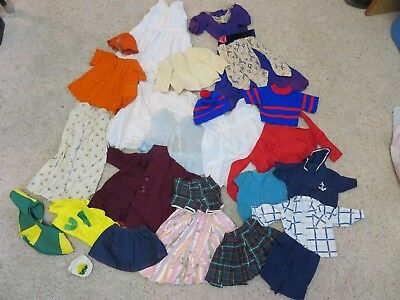Vintage Doll Clothes lot, fit larger doll, TLC lot,  Some Snoopy