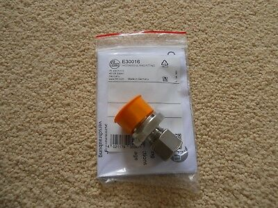 Ifm Electronic E30016 Progressive Ring Fitting / Mounting / Fitting B/new In Pac