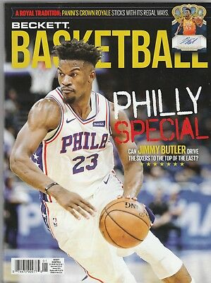 New Beckett Basketball Price Guide Magazine, January 2019 (Jimmy Butler)