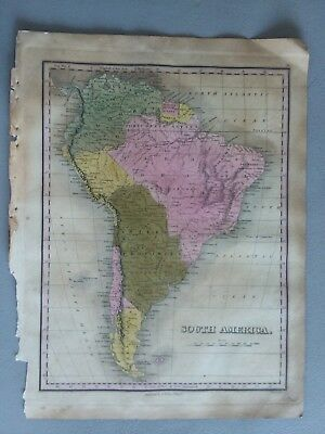 1824 Map South America Anthony Finley