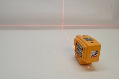 USED PLS4 Laser Level Beam Square Plum Tool 2 Point Red Dot PLS-4