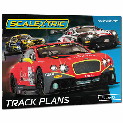 SCALEXTRIC C8334 Track Plans Book Issue10