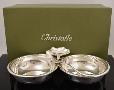 ANEMONE BELLE EPOQUE by CHRISTOFLE France Silverplate Serving Dish Silver Plated