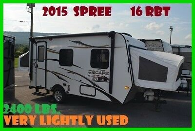 2015 KZ Spree Escape E16RBT Used
