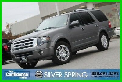 2012 Ford Expedition Limited 2012 Limited Used 5.4L V8 24V Automatic 4WD SUV Premium Moonroof