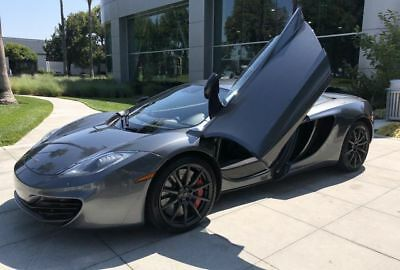 2012 MP4-12C Coupe 2D Gray McLaren MP4-12C with 16,898 Miles available now!