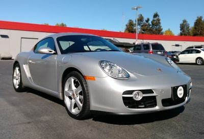 2008 Cayman Coupe 2D Arctic Silver Metallic Porsche Cayman with 92,648 Miles available now!