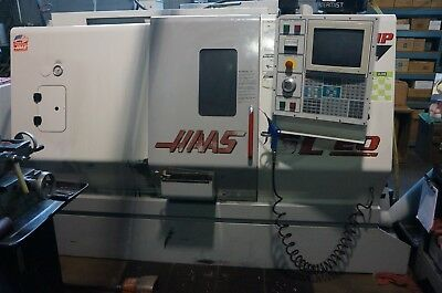 Haas SL 20 CNC Turning Center - live tool and bar feed
