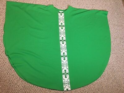 Green Vestment With Nice Embroidery + Stole