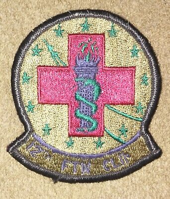 US Air Force 12th Flying Training Wing Clinic OD Subdued Squadron Patch