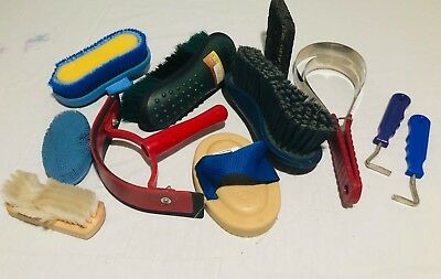 9 Piece Gently Used Horse Grooming Lot, $50 value!