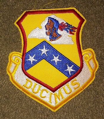 NOS US Air Force 189th Airlift Wing Color Squadron Patch