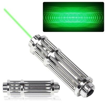 High Power Military Laser Pointer Pen Green 1MW 532nm Militar Burning Beam Vf UK