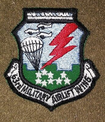 NOS US Air Force 63rd Military Airlift Wing Color Squadron Patch