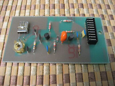 PHILIPS PM9677 10MHZ TCXO Timebase for PM661X series Frequency Counters w/manual
