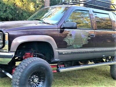 1997 Chevrolet Suburban Customized and Lifted 1997 chevy K1500 Suburban Customized! Lifted Former Storm Chaser! only 104,000K