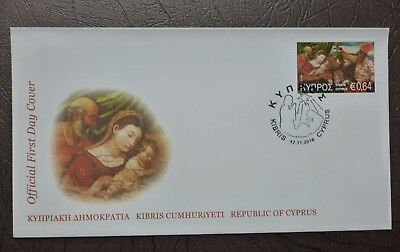 2016 Cyprus Greek Christmas (Wise Men) Stamp Fdc First Day Covers