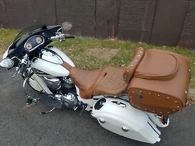 2016 Indian Chieftain  2016 Indian Chieftain Custom White with tour pack heated seat fully serviced