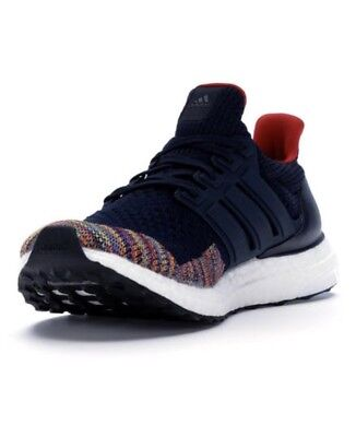 44ae23699 ADIDAS ULTRA BOOST 1.0 LTD NAVY US 12 Multi Colored Toe 2018 New Release  BB7801